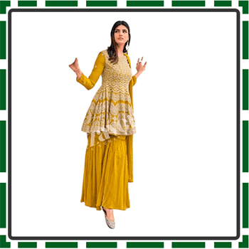 Best Sharara Suits with Long Kameez