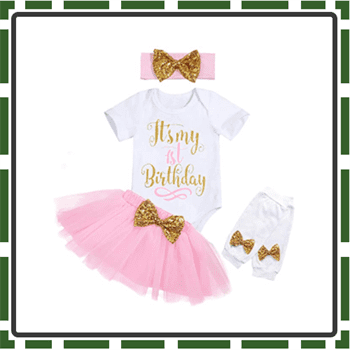 Best Quality Baby Girl First Birthday Outfits