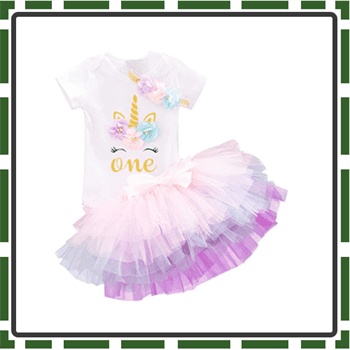 Best Baby NNJXD Girl First Birthday Outfits