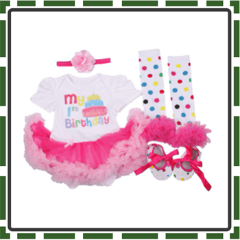 Best AISHIONY Baby Girl First Birthday Outfits