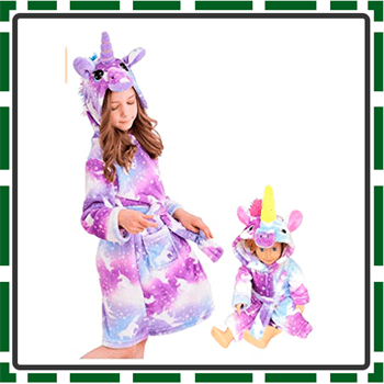 Best Special bath robes for girls