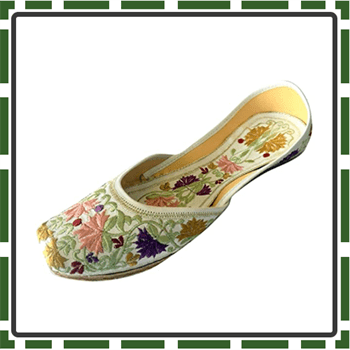 Best leather Made Girls Khussa Shoes
