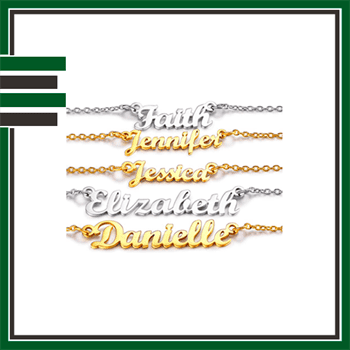Best Stainless Steel Name Necklaces