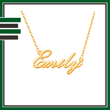 Best Gold Name Necklaces
