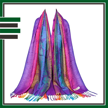 Best Colorful Womens Shawl