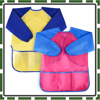 Best Colorful Painting Aprons for Kids