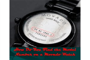 How Do You Find the Model Number on a Movado Watch