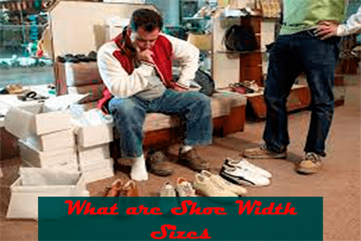 What are Shoe Width Sizes
