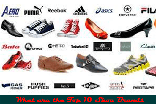 What are the Top 10 Shoe Brands