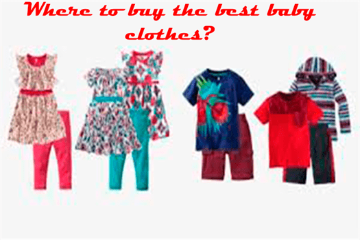 Where to buy the best baby clothes